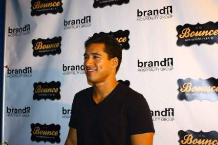 Mario Lopez Bounce Grand opening